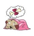 Cartoon Comic of Dog vector image