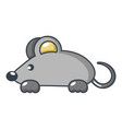 mouse icon cartoon style vector image