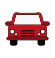 red car design vector image