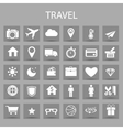 flat icons set and graphic design elements vector image vector image