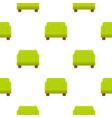 green armchair pattern flat vector image