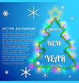 happy new year background vector image