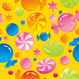 sweets and sugar candies vector image vector image