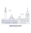 birmingham the most famous buildings of the city