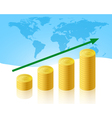 increase business vector image