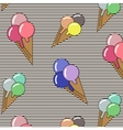 Background with ice cream and bonbons Ideal for vector image