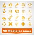 Medical icon 2 vector image