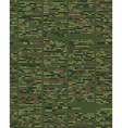 Military texture Soldier camouflage ornament khaki vector image