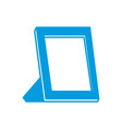 blank picture frame vector image