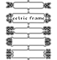 Set celtic frame vector image