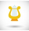 Lyra icon vector image