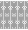 arrow pattern seamless scandinavian design vector image