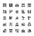 Real Estate Colored Icons 3 vector image