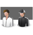 People Icons Men vector image