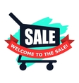 Sale modern flat icon vector image