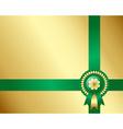 Saint Patricks Day Irish background vector image