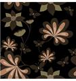 Seamless dark background vector image