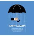 Rainy Season vector image