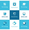 Dental Clinic Teeth Logo vector image