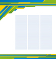 Template background 01 vector image vector image