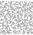 rumi iznik seamless pattern vector image