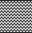 zigzag chevron seamless pattern curved wavy lines vector image