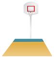 Basketball area vector image