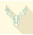 deer frame vector image