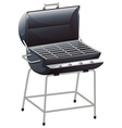 A grilling device vector image