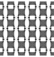 Square gray seamless pattern vector image