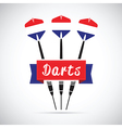 netherlands darts vector image