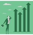 Growing business opportunities concept vector image vector image