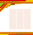 Template background 02 vector image