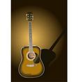 sunburst guitar vector image