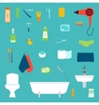 Hygiene Icon Set vector image