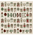 Small homes vector image vector image