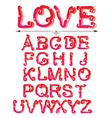 love abc vector image