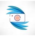 Digital cam icon vector image