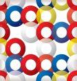 circular seamless tile red vector image vector image