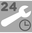 Service Hours Icon vector image