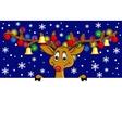 funny deer vector image vector image