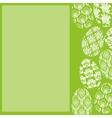 Green Easter Frame vector image