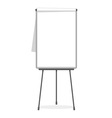 Flipchart blank template vector image vector image
