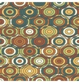 Ethnic colored ornamental Texture with Circles vector image