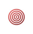 Target icon - background vector image