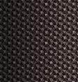 Black polygonal mosaic background vector image