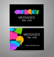messages logo vector image