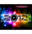 new year 2012 vector image