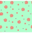 Trendy Seamless Floral Pattern in vector image