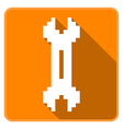 Two way Wrench vector image